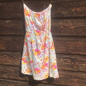 Billabong Strapless Summer Dress, Size Small